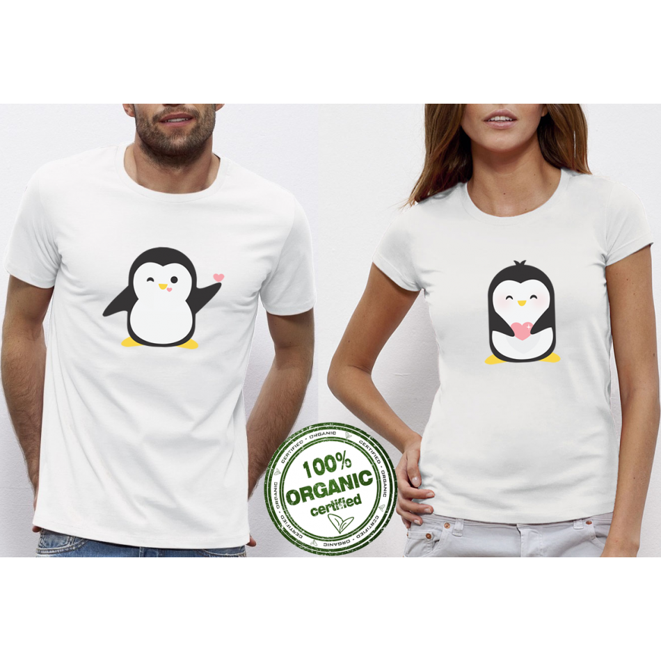 Trička pro páry Penguin Love P-CP-073