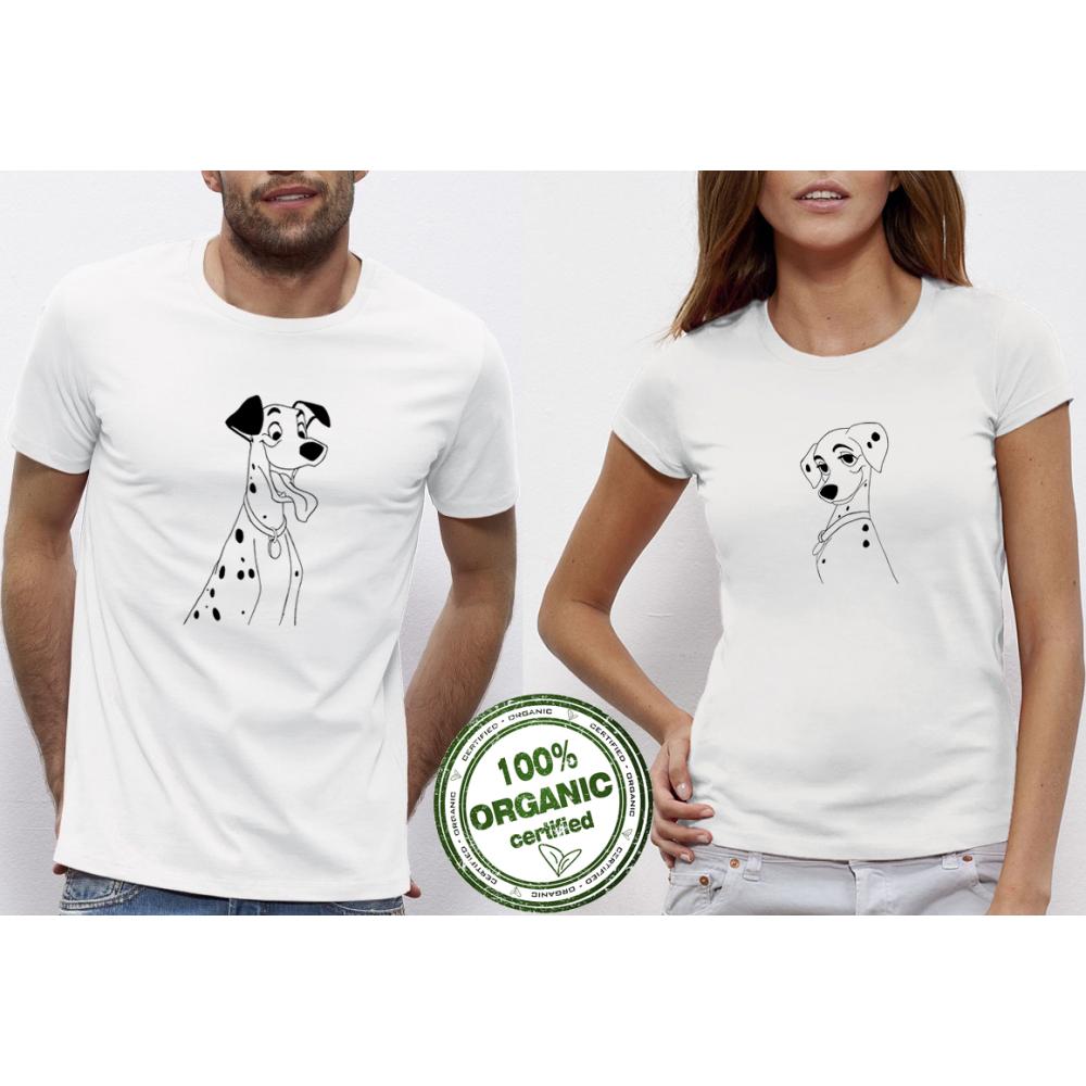 Trička pro páry Dalmatians P-CP-098