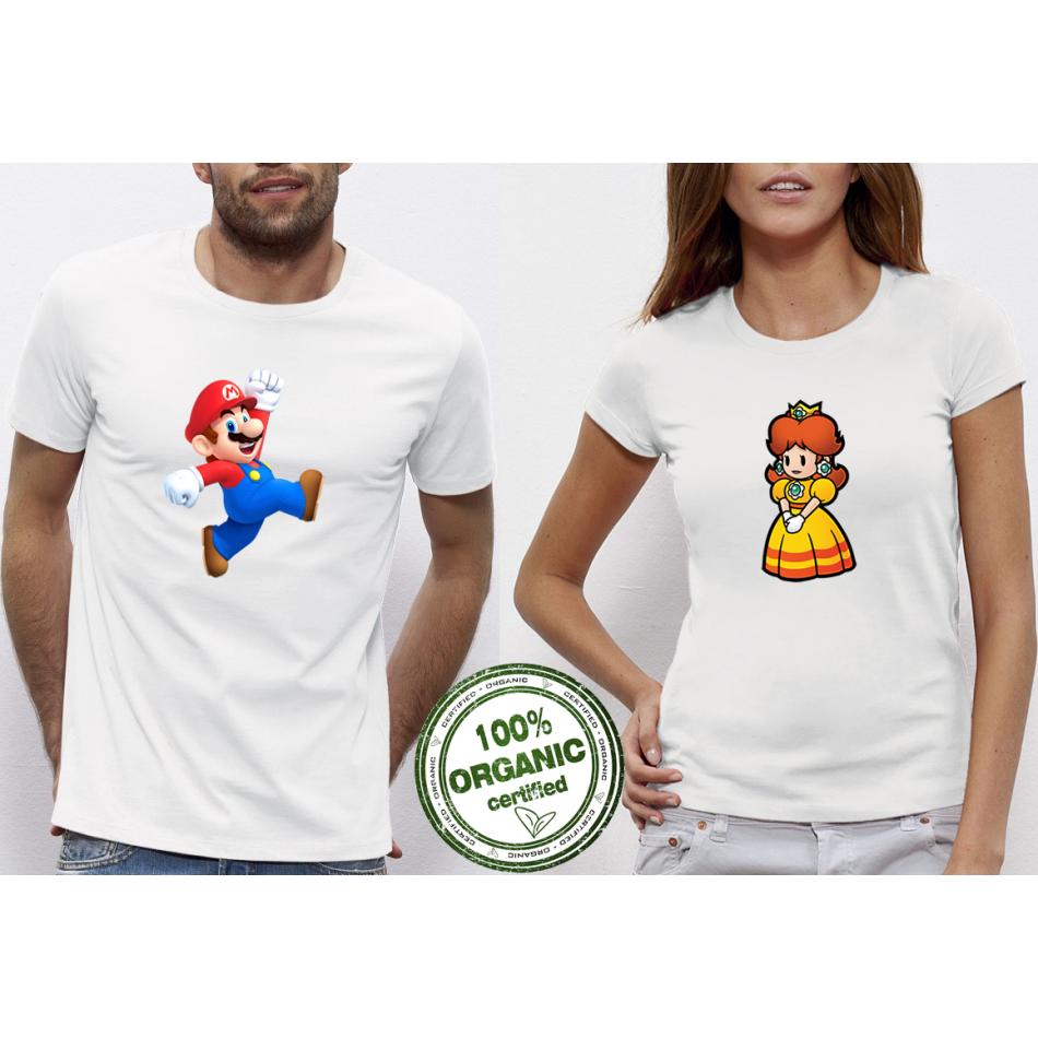 Trička pro páry Mario P-CP-101
