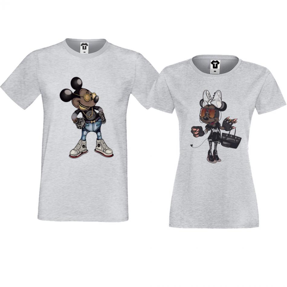 Trička pro pary Mickey - Minnie Modern P-CP-121G
