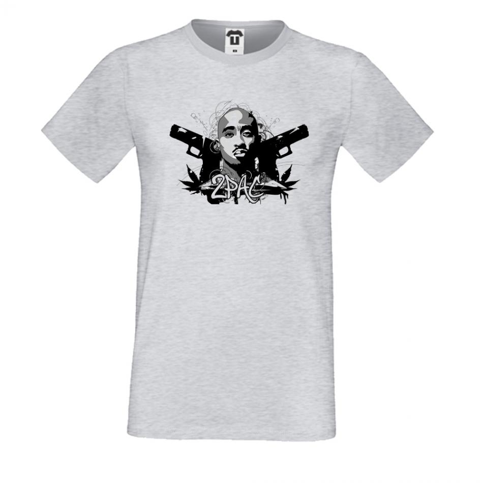 Pánská trička Šedé 2 pac P-M-015G