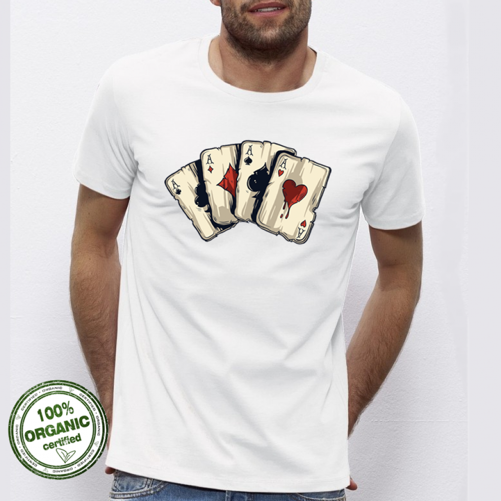 Pánská trička 4 Aces P-M-026