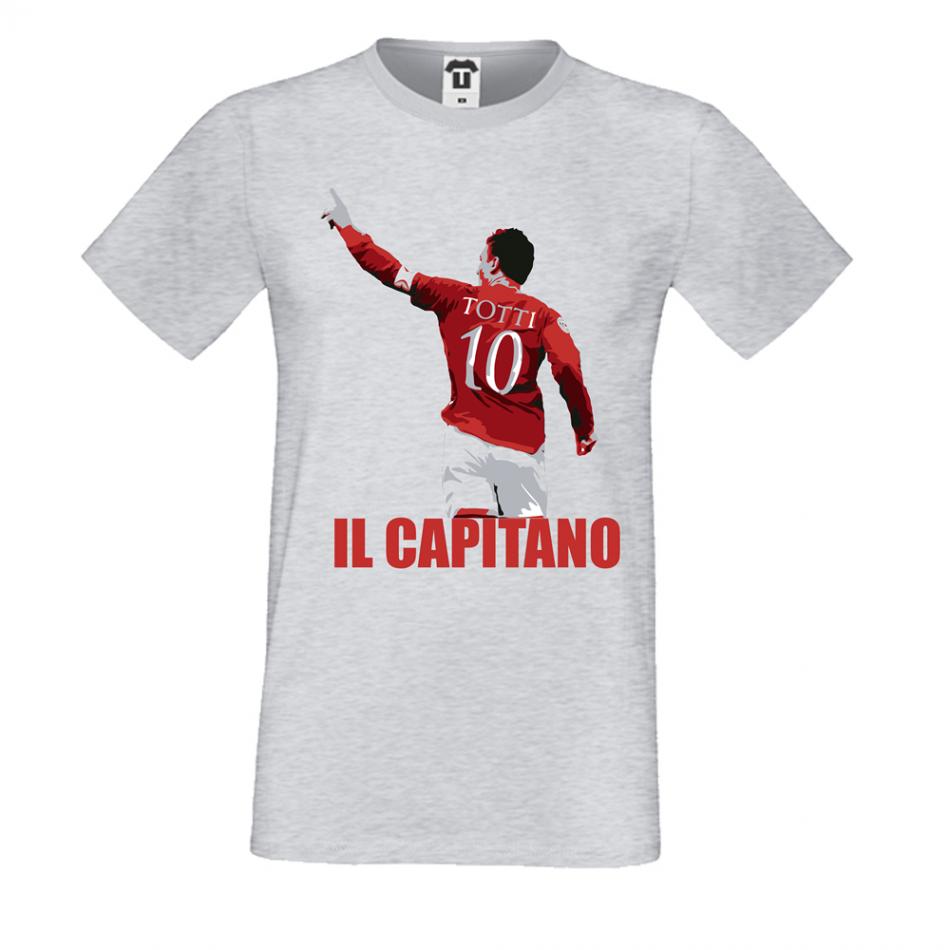 Pánská trička Totti Il Capitano P-M-135G