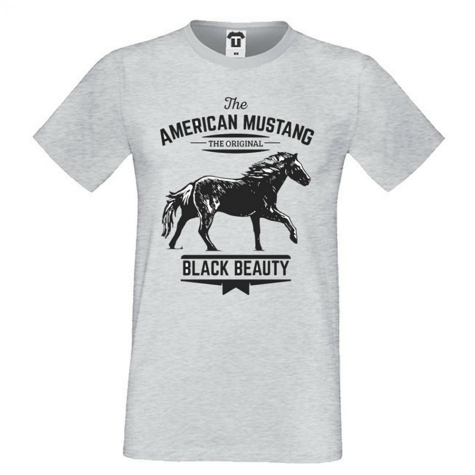 Pánská trička American Mustang P-M-137G