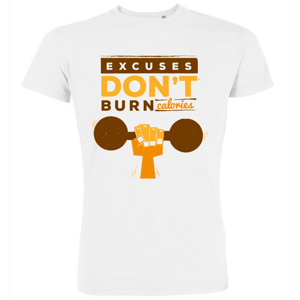 Pánská trička Excuses Don't Burn Calories P-M-139