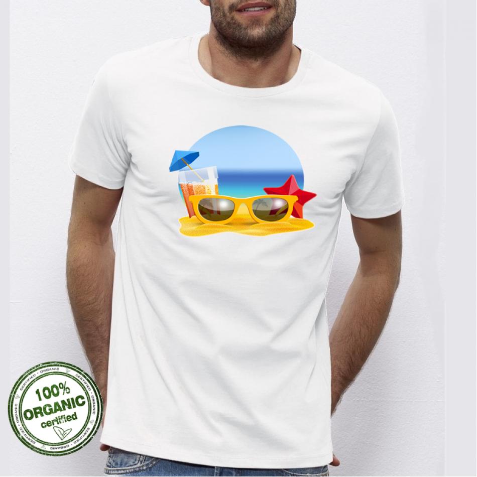 Pánská trička Beach P-M-170