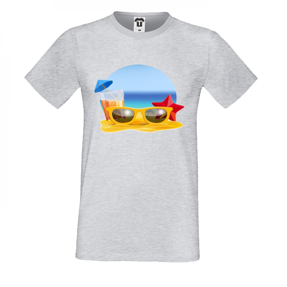 Pánská trička Beach P-M-170G