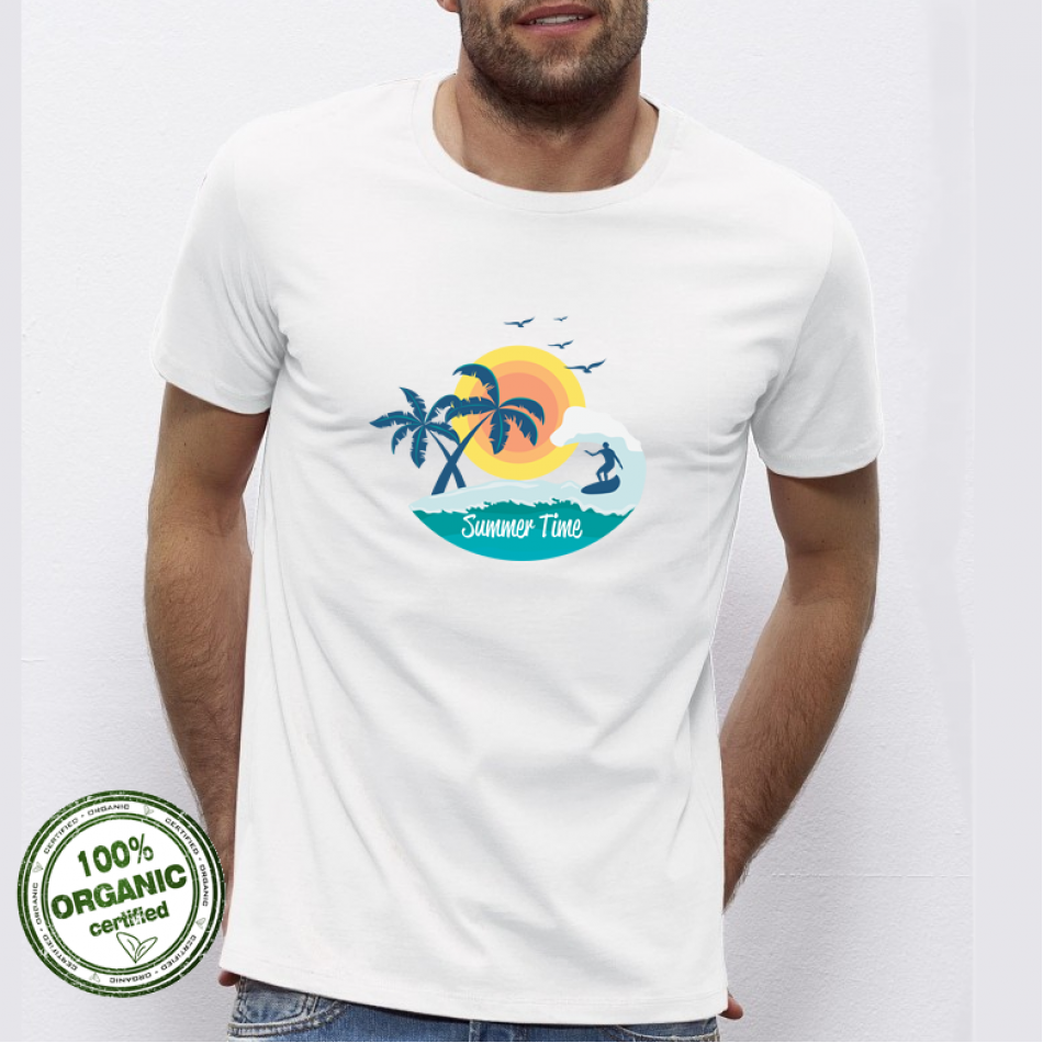 Pánská trička Summer Time P-M-178