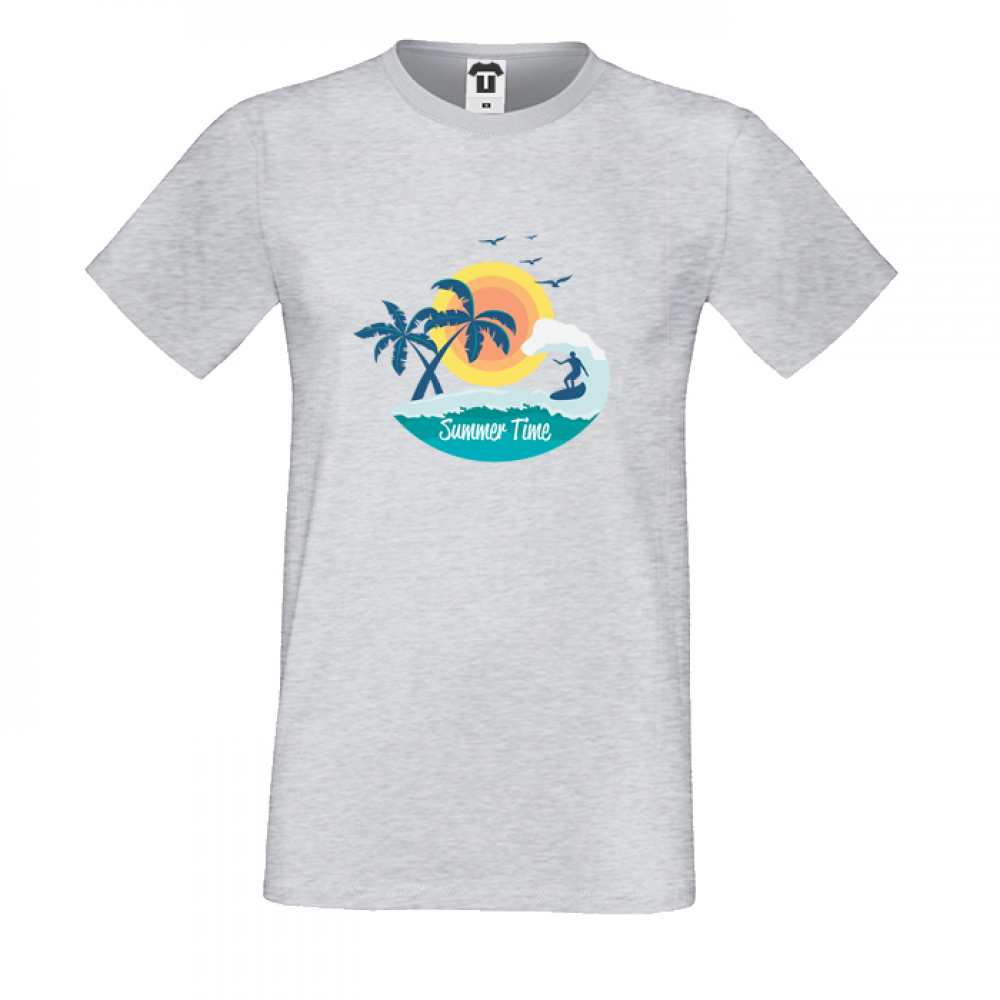 Pánská trička Summer Time P-M-178G