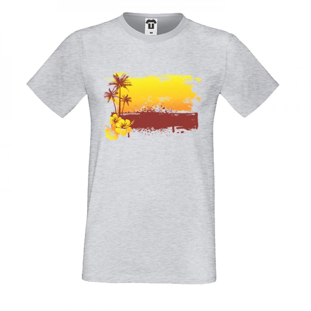 Pánská trička Summer Sunset P-M-179G