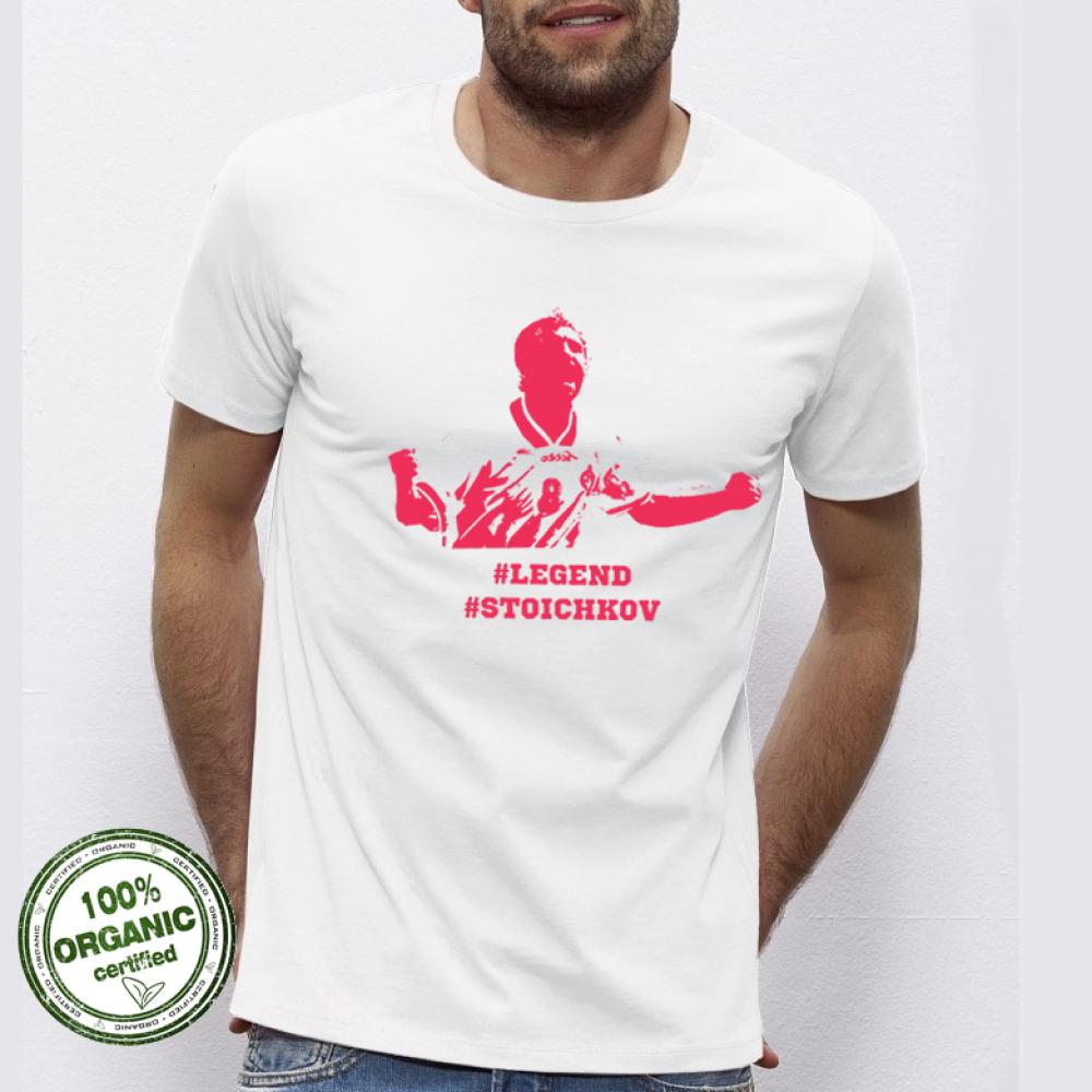 Pánská trička Stoichkov # Legend P-M-076