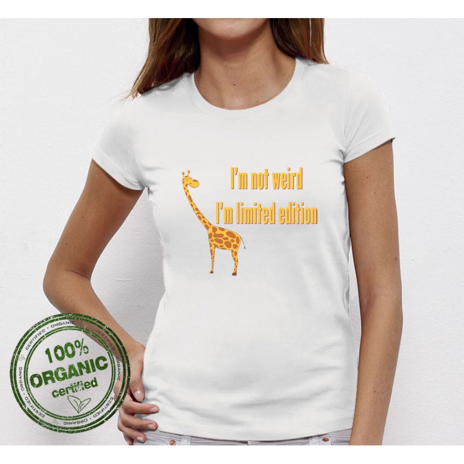 Dámské tričko I am not Weird Giraffe P-W-003
