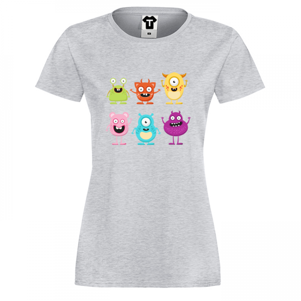 Dámské tričko Monsters  P-W-004G