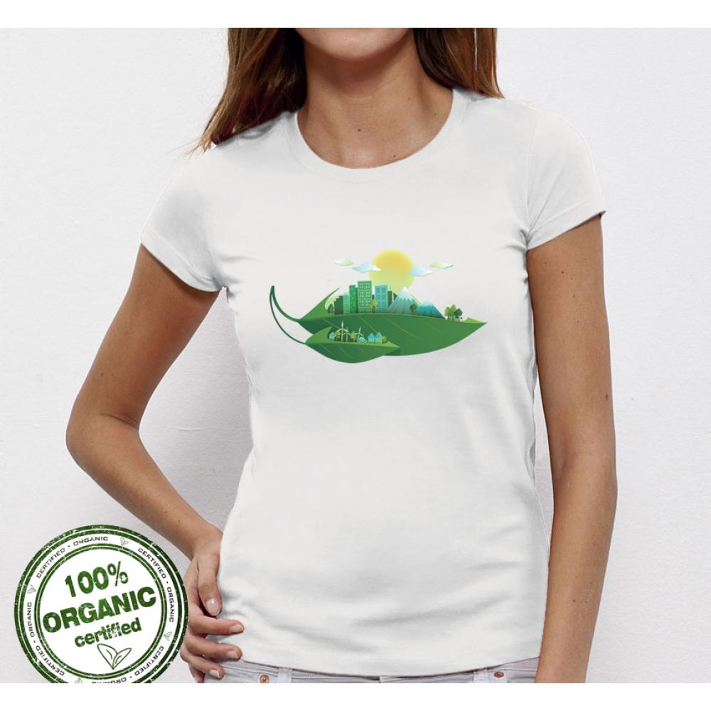 Dámské tričko Green City P-W-005