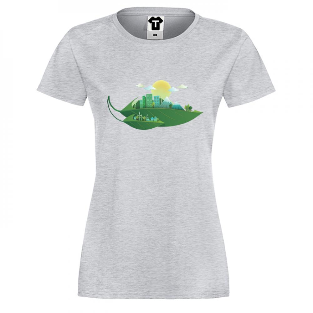 Dámské tričko Green City P-W-005G