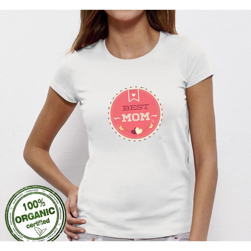 Dámské tričko Best Mom 4 P-W-010