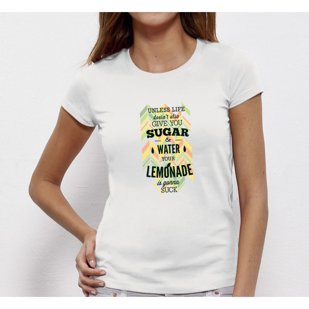 Dámské tričko Lemonade P-W-017