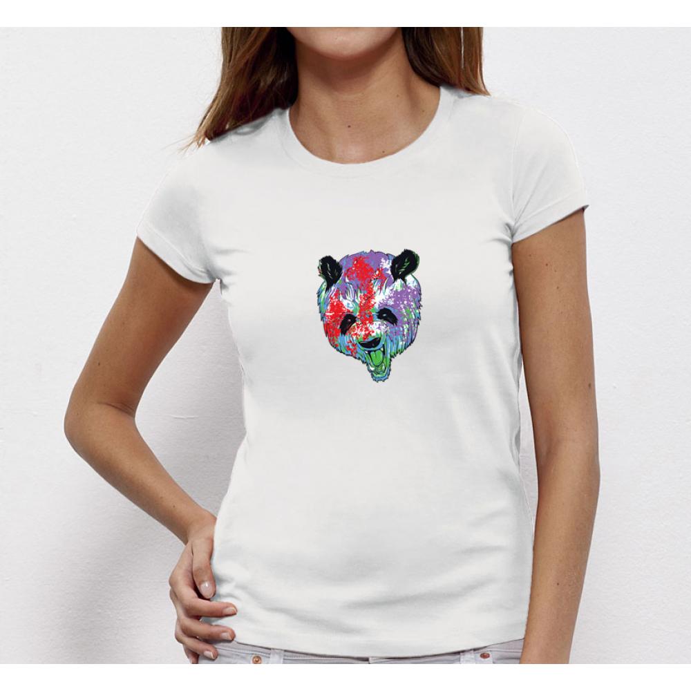 Dámské tričko Bear Painted P-W-019