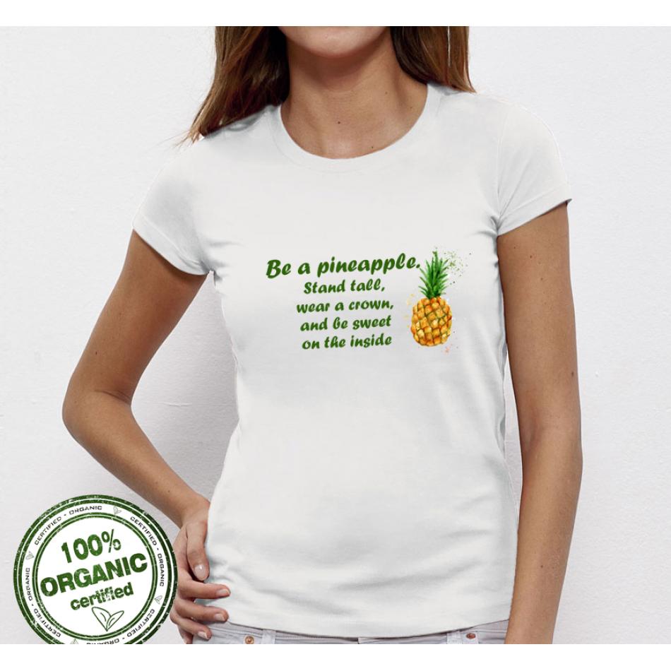 Dámské tričko Pineapple P-W-023