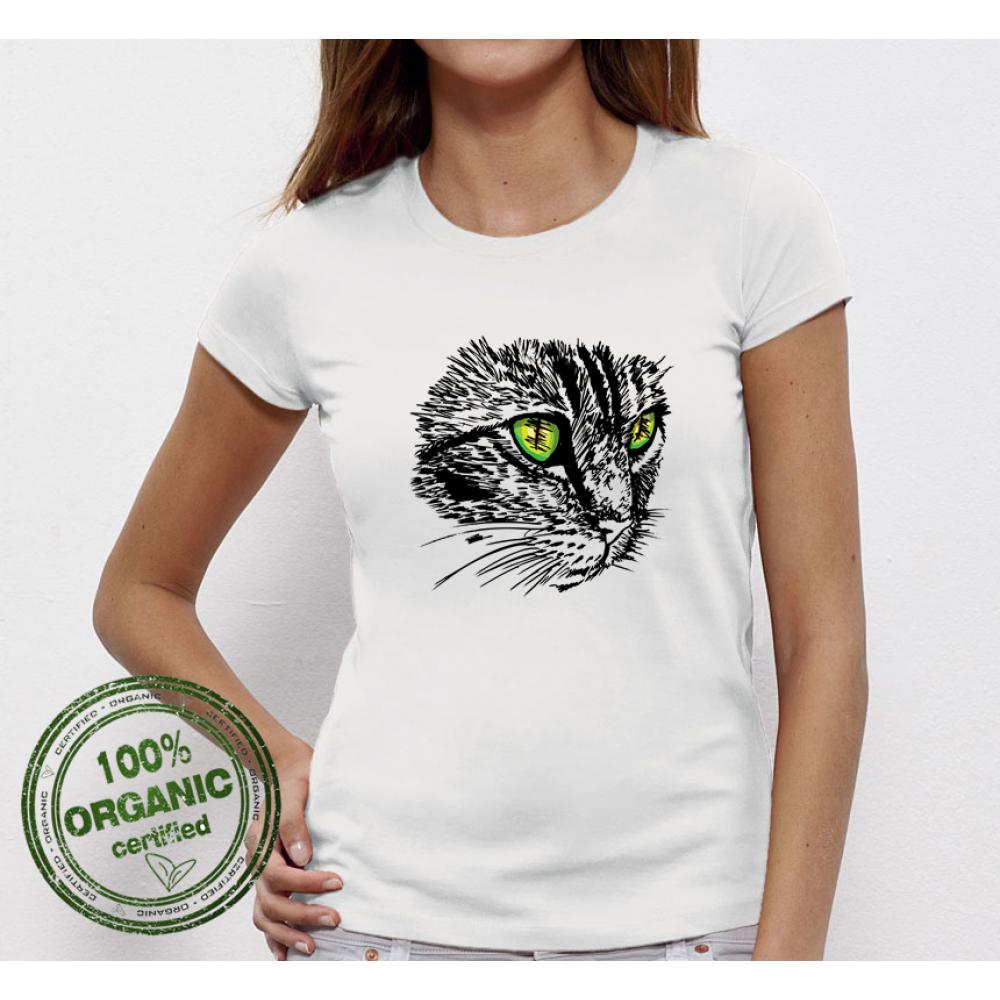 Dámské tričko Cat  P-W-044