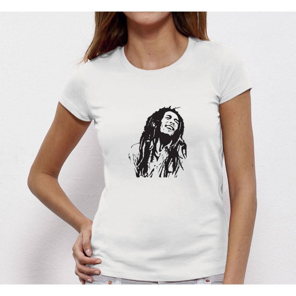 Dámské tričko Bob Marley P-W-055