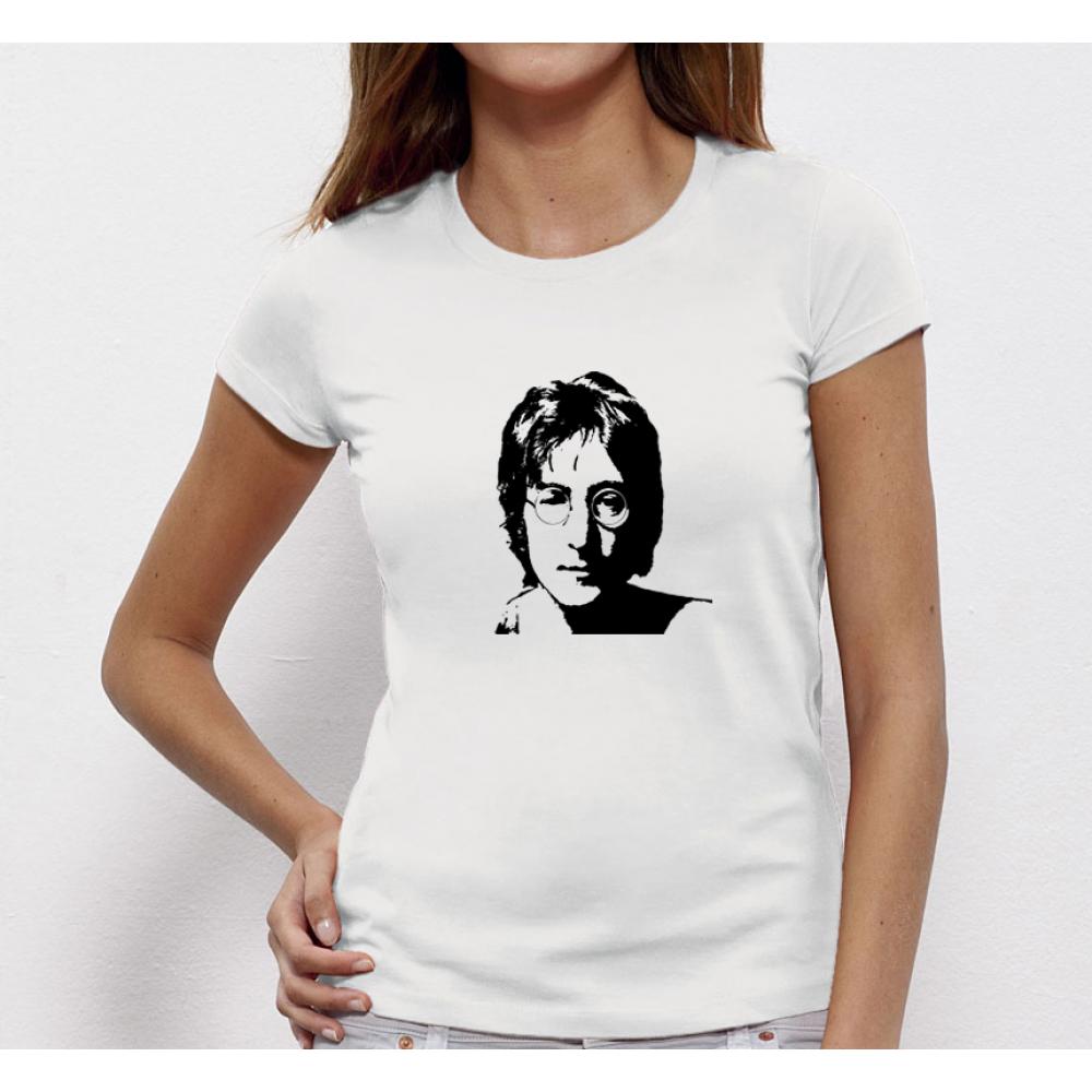Dámské tričko John Lennon P-W-057