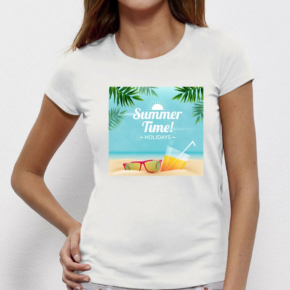 Damské tričko Summer Time P-W-136