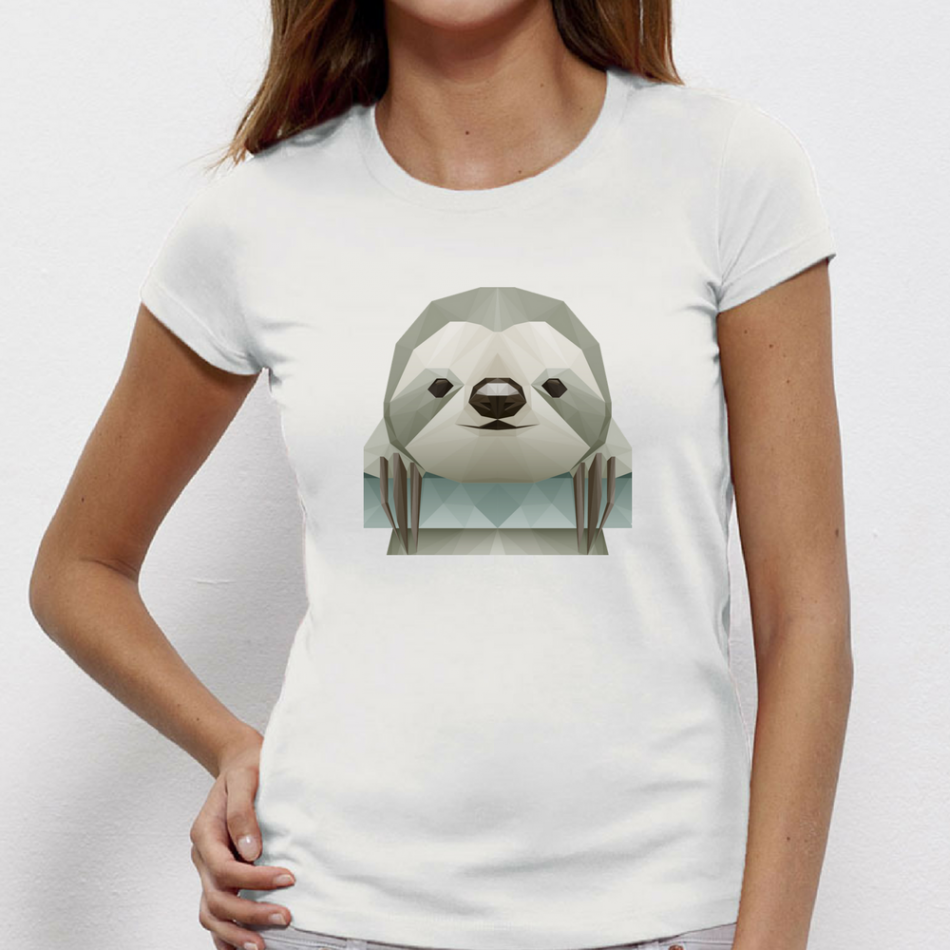 Damské tričko Penguin Polygonal P-W-148