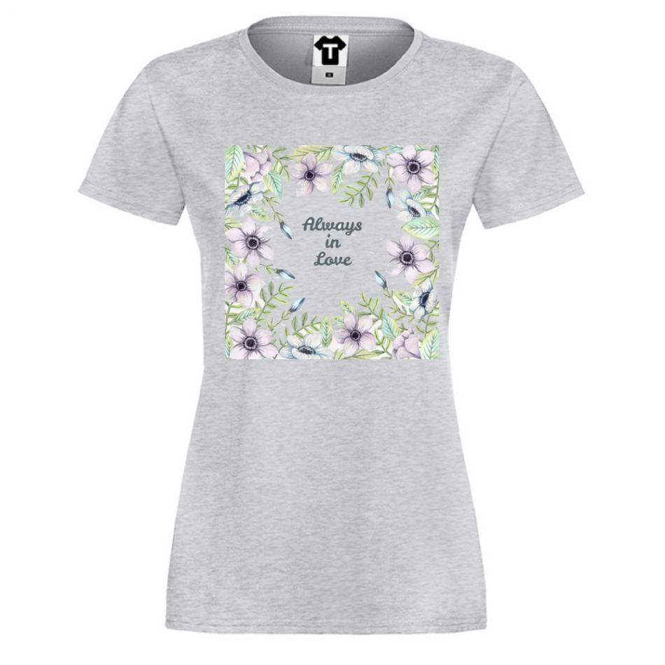 Damské tričko Always in Love  P-W-159G