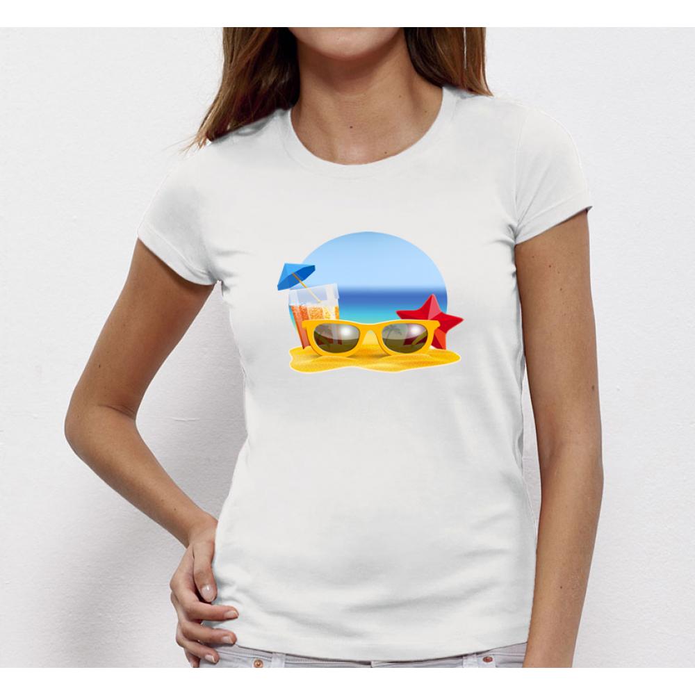 Damské tričko Beach P-W-170