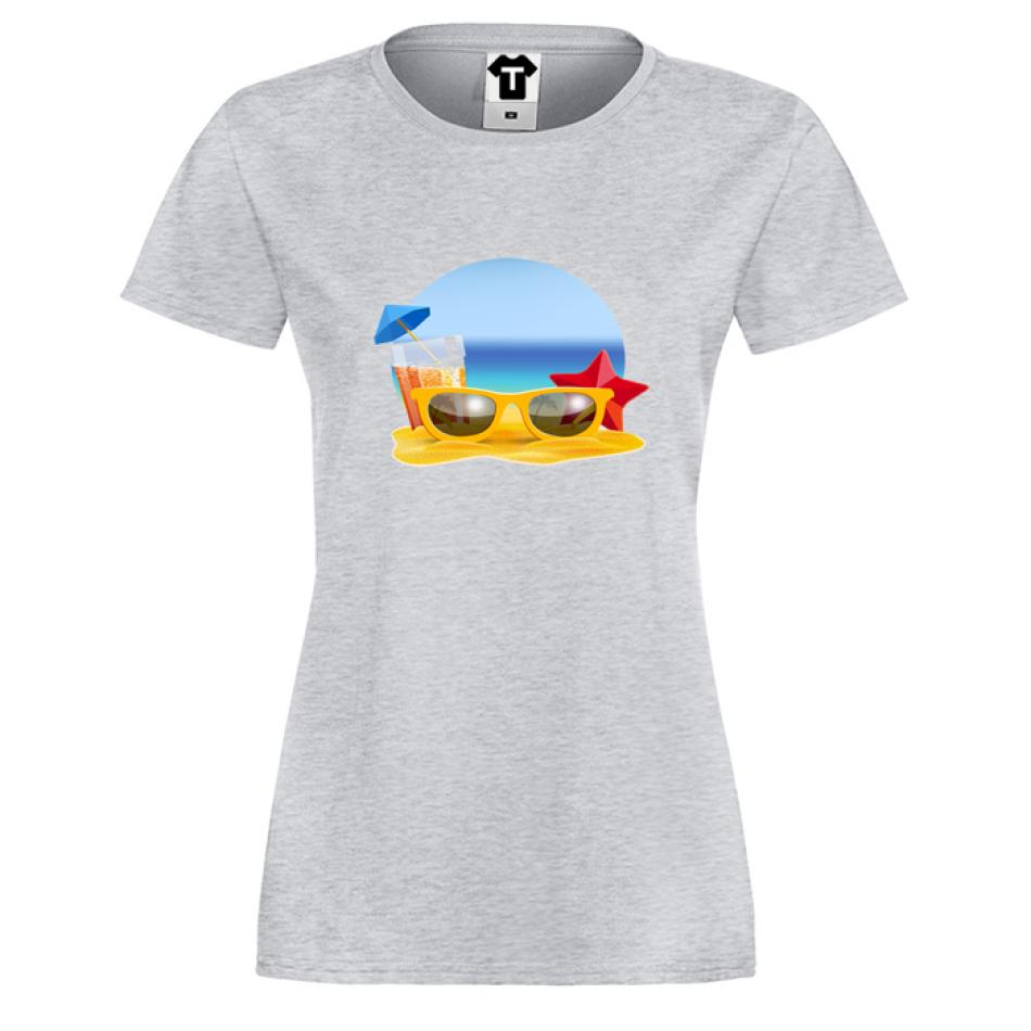 Damské tričko Beach P-W-170G