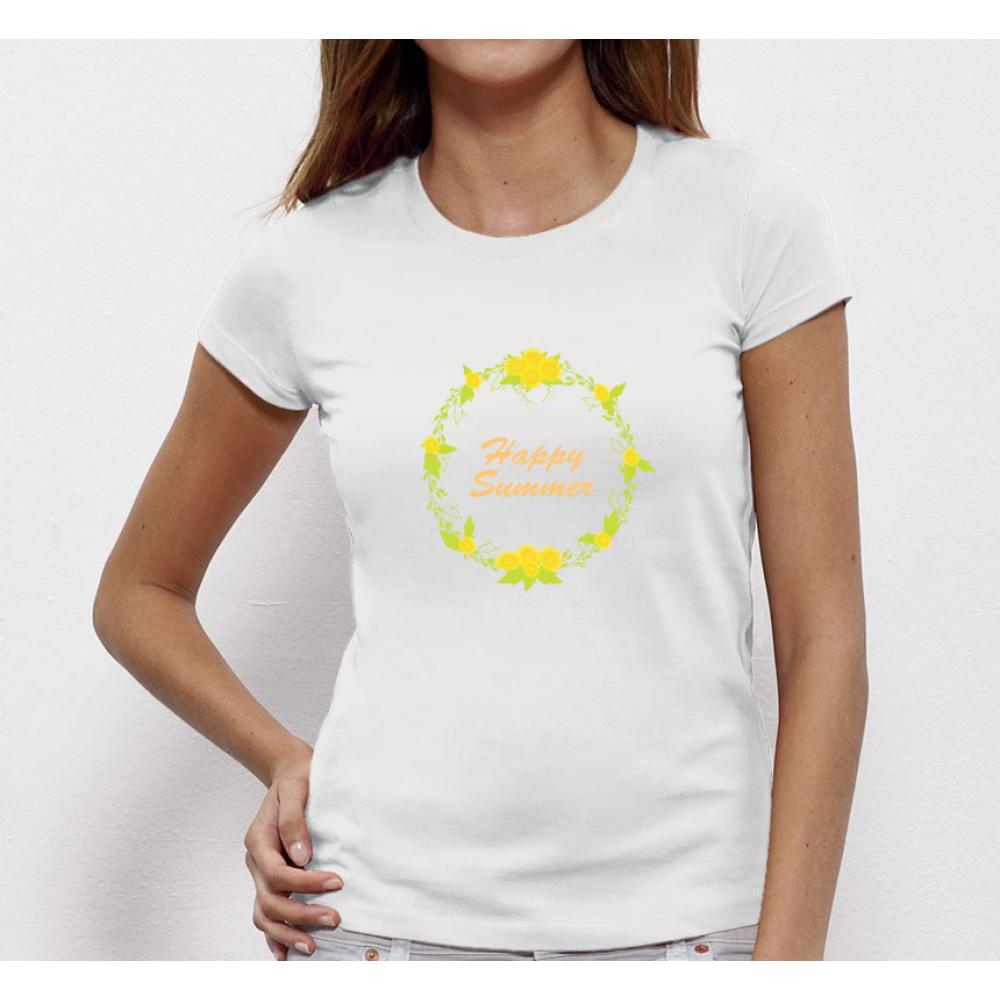 Damské tričko Happy Summer P-W-174