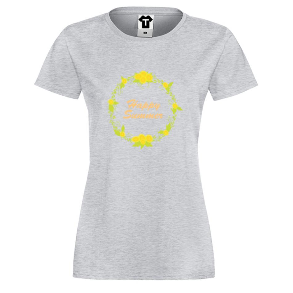 Damské tričko Happy Summer P-W-174G