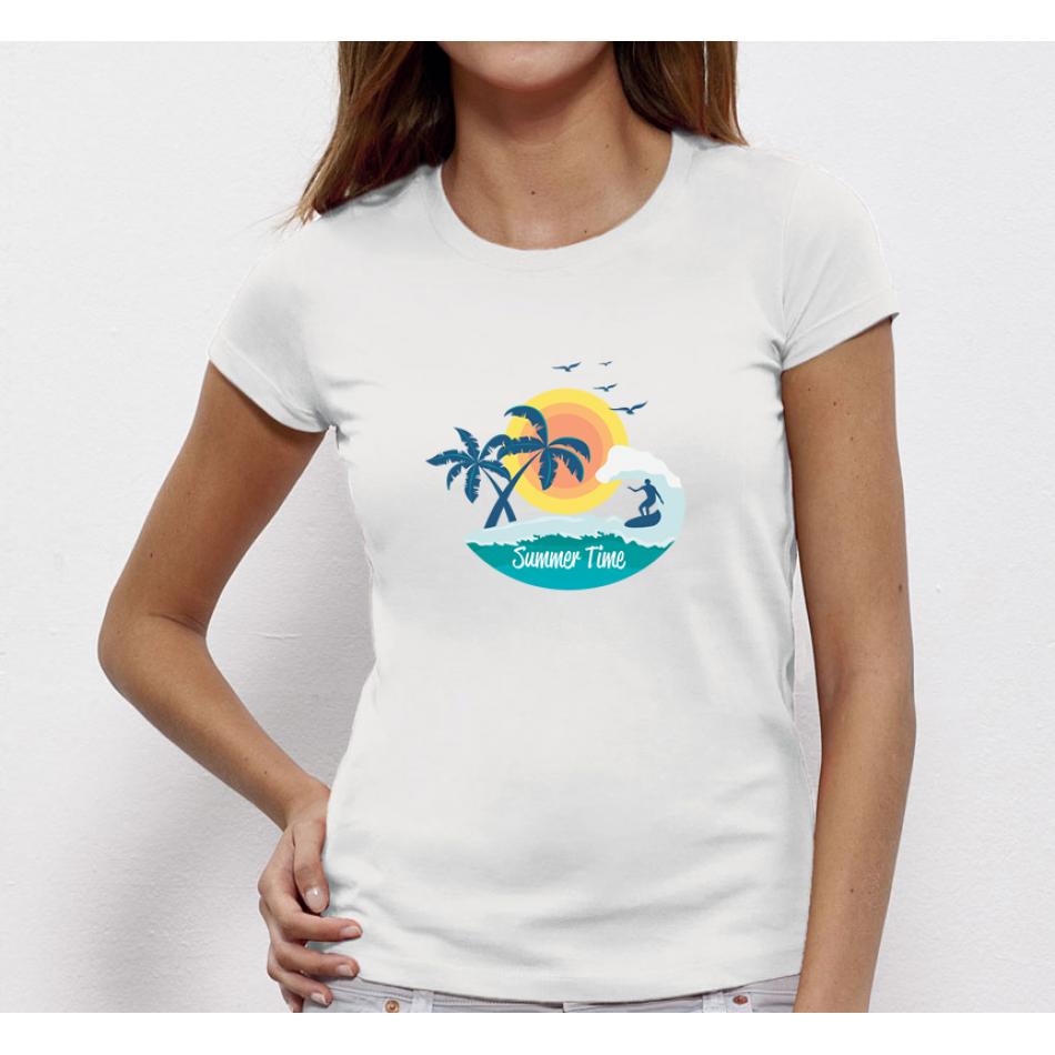 Damské tričko Summer Time P-W-178