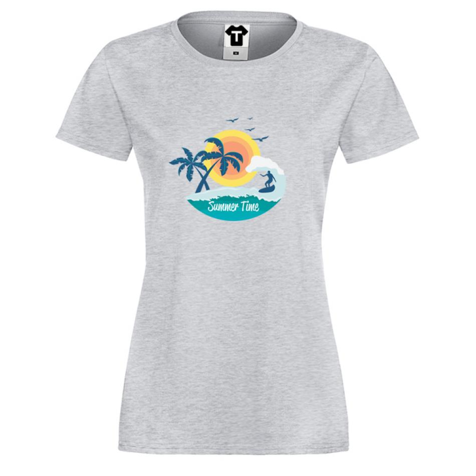 Damské tričko Summer Time P-W-178G