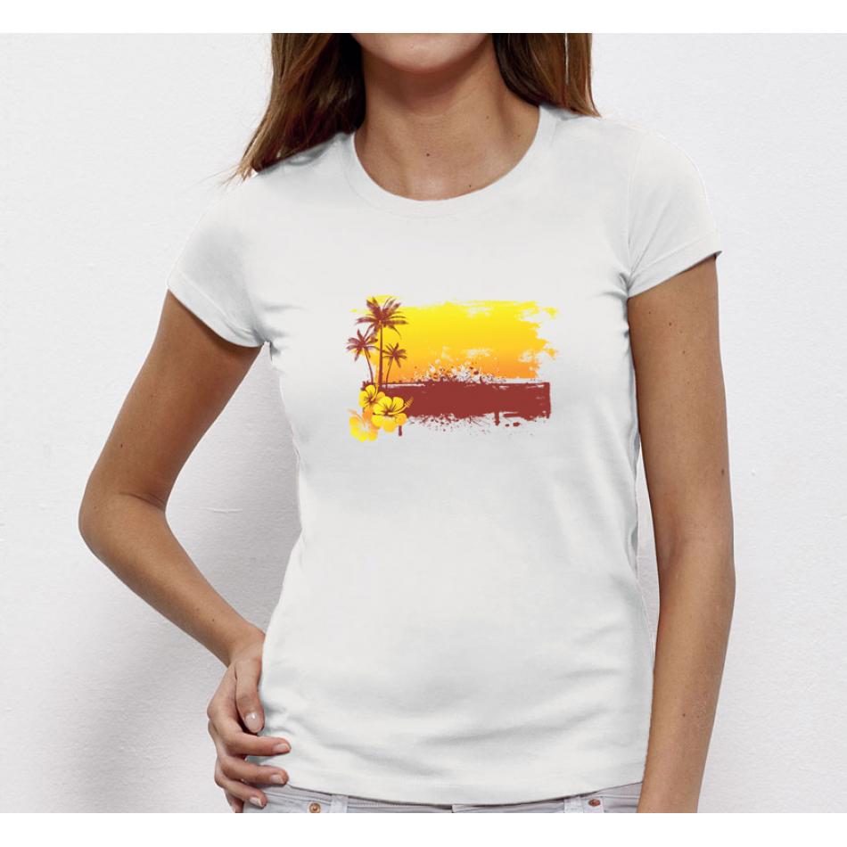 Damské tričko Summer Sunset P-W-179