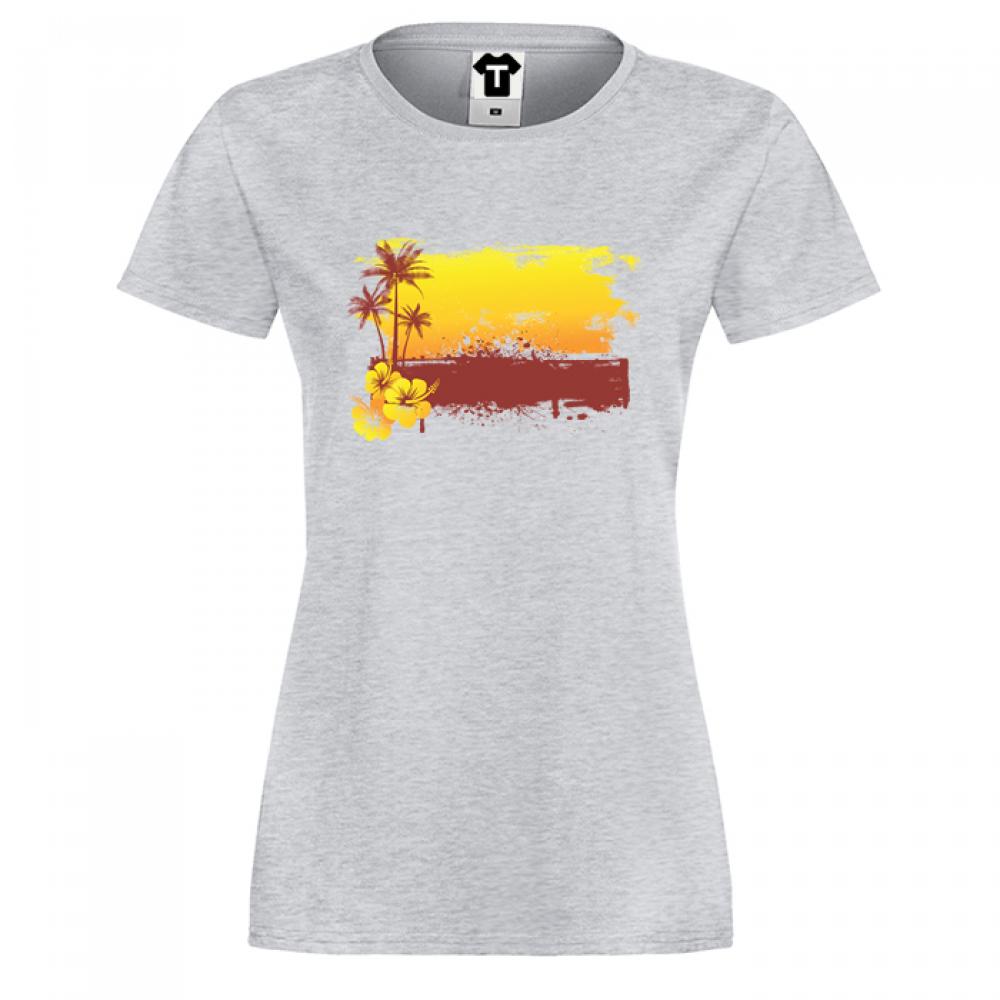 Damské tričko Summer Sunset P-W-179G