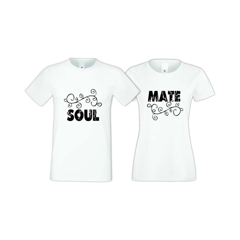 Trička pro pary SOUL-MATE  S-CP-020