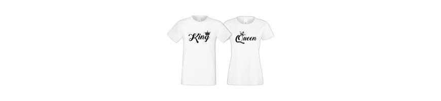 King & Queen - TShirt24.cz