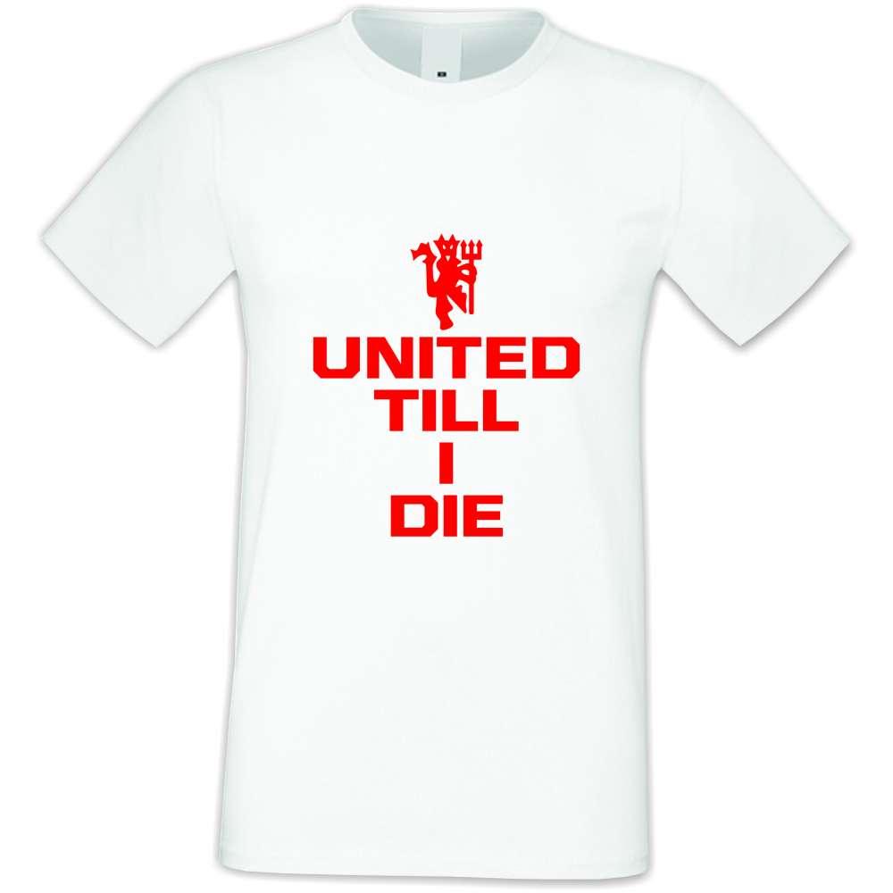 Panske tričko  United till I die  S-M-036