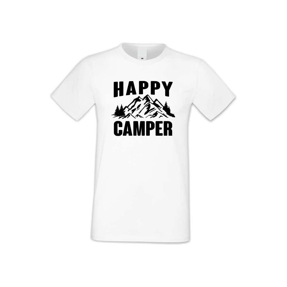Panske tričko  Happy Camper  S-M-146
