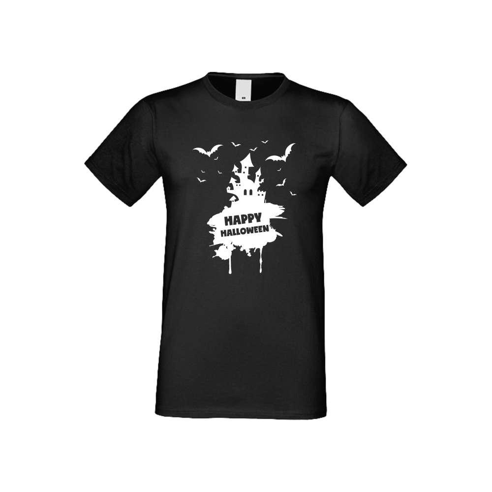 Panske tričko  Happy Halloween 3 crna S-M-168B