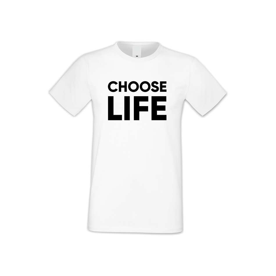 Panske tričko  Choose Life  S-M-170
