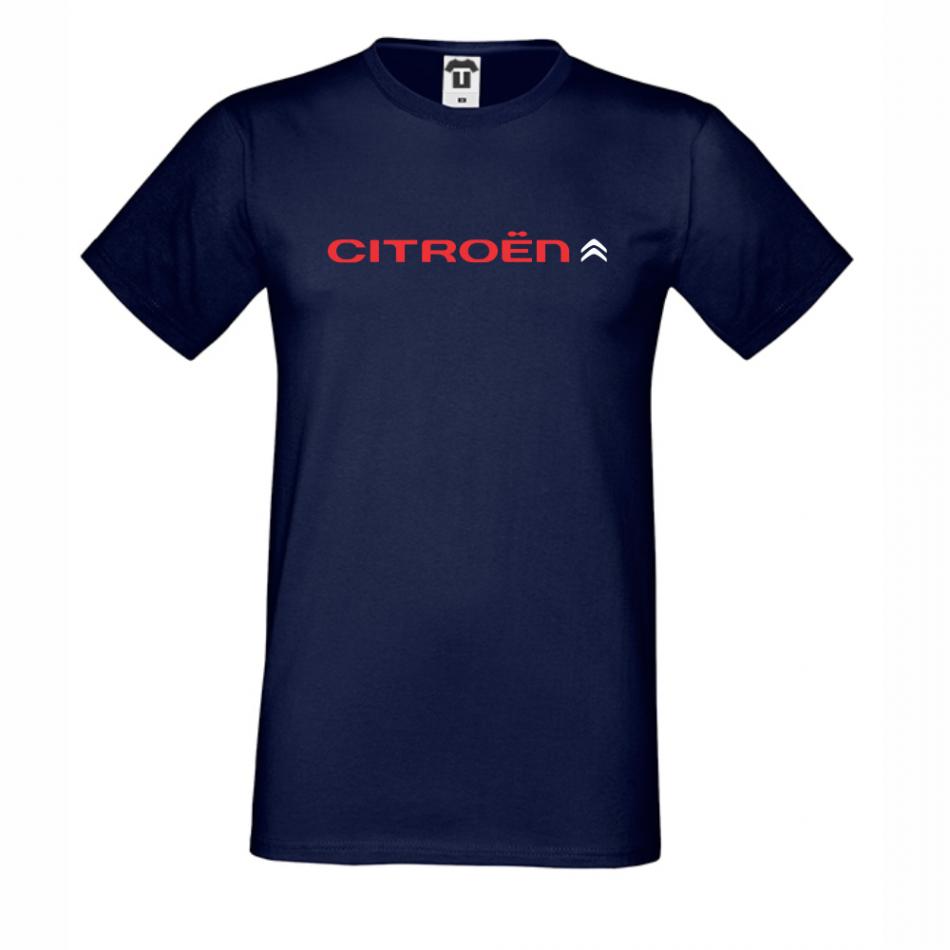 Tmavě modé pánské triko Citroen D-M-051N