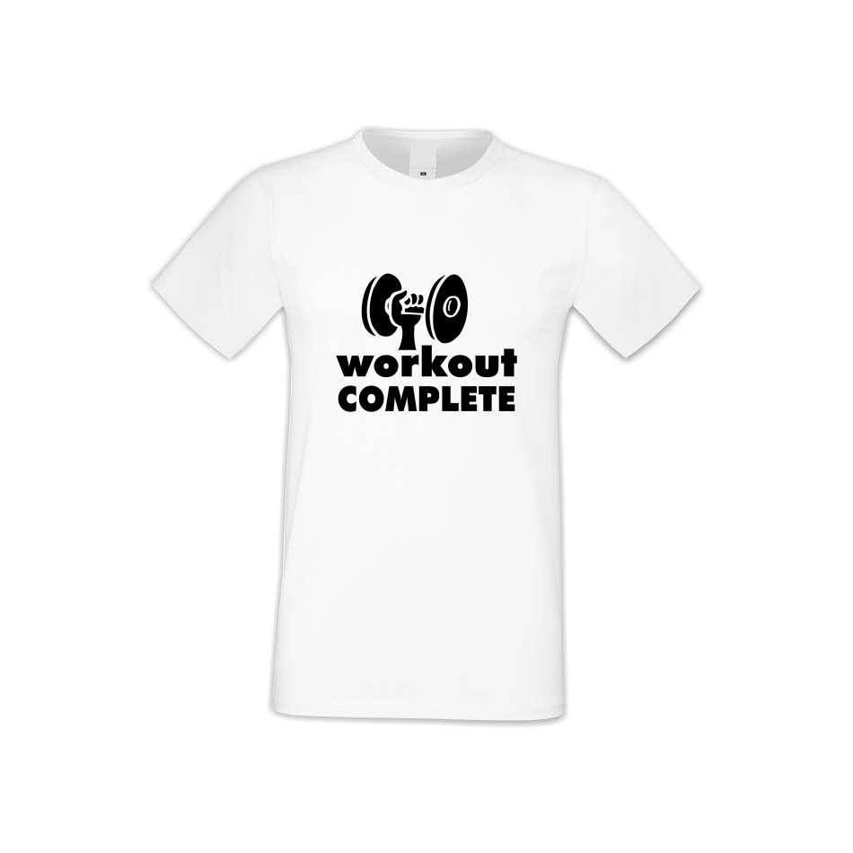Panske tričko  Workout complate  S-M-FIT-012