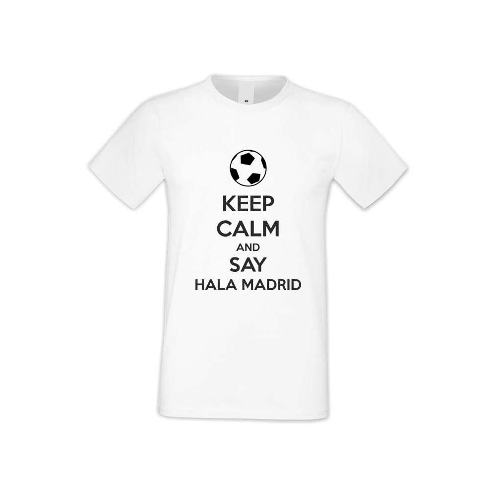 Panske tričko  KEEP CALM and SAY HALA MADRID  S-M-FOOT-006