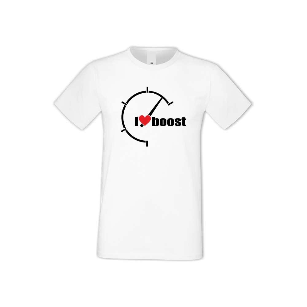 Panske tričko  I Love Boost  S-M-AU-042