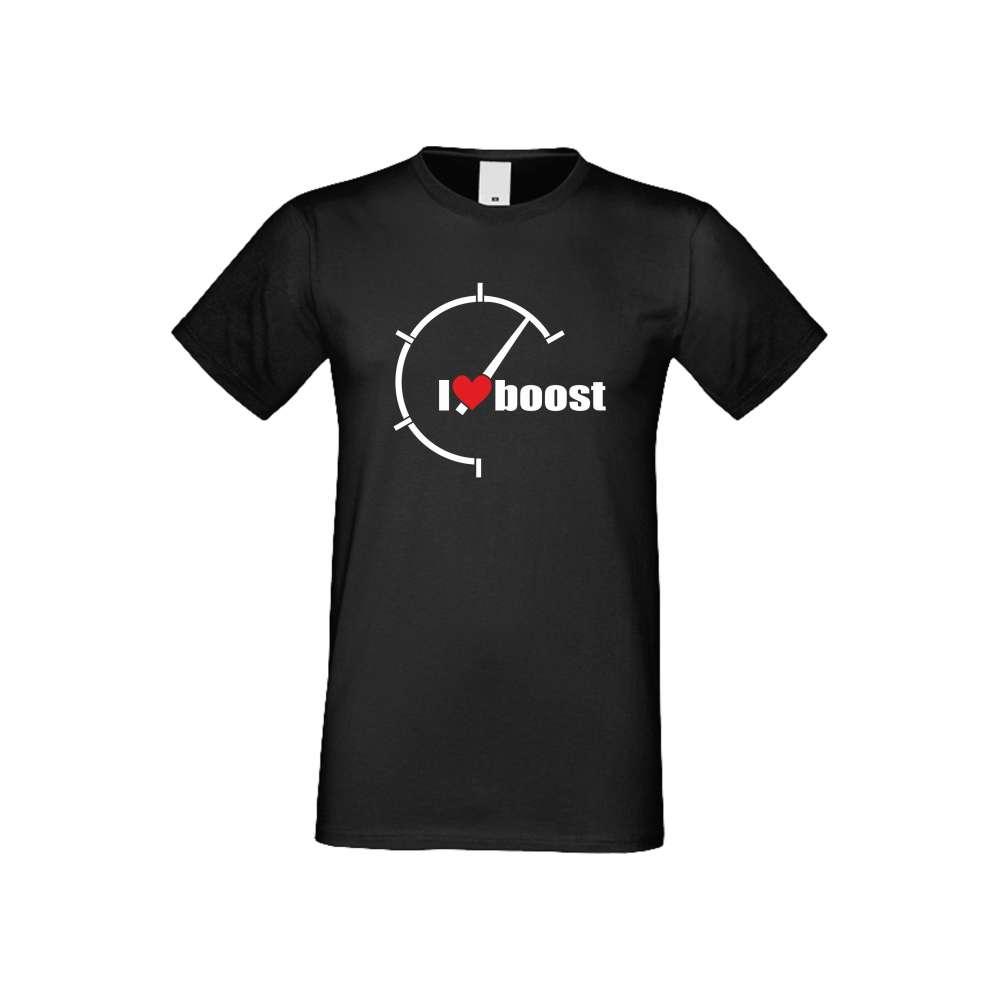 Panske tričko  I Love Boost  S-M-AU-042B