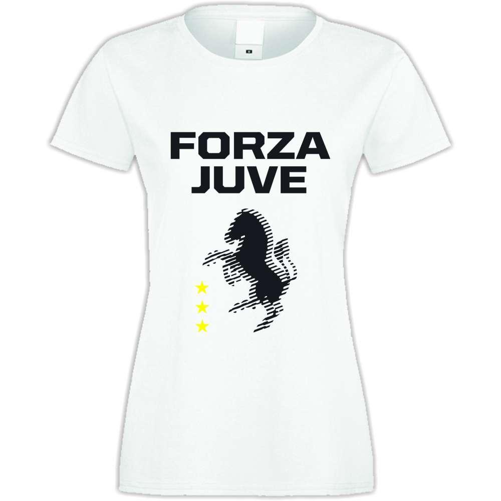 Damské tričko Forza Juventus  S-W-037