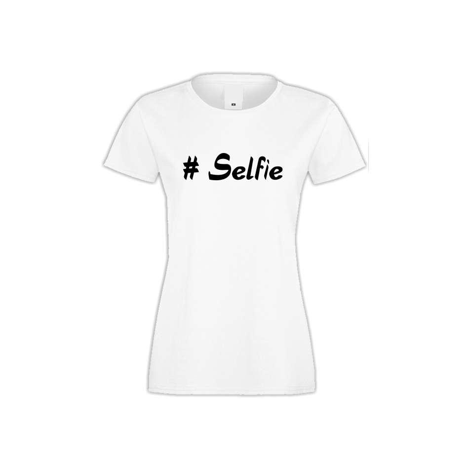 Damské tričko Selfie  S-W-145